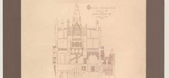 Выставка работ и графики Антонио Гауди