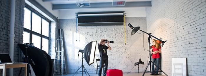 Профессиональная фотосъемка в студии