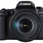 Новая зеркальная камера Canon EOS 77D