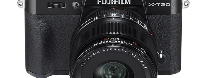 Новая беззеркальная камер от Fujufilm